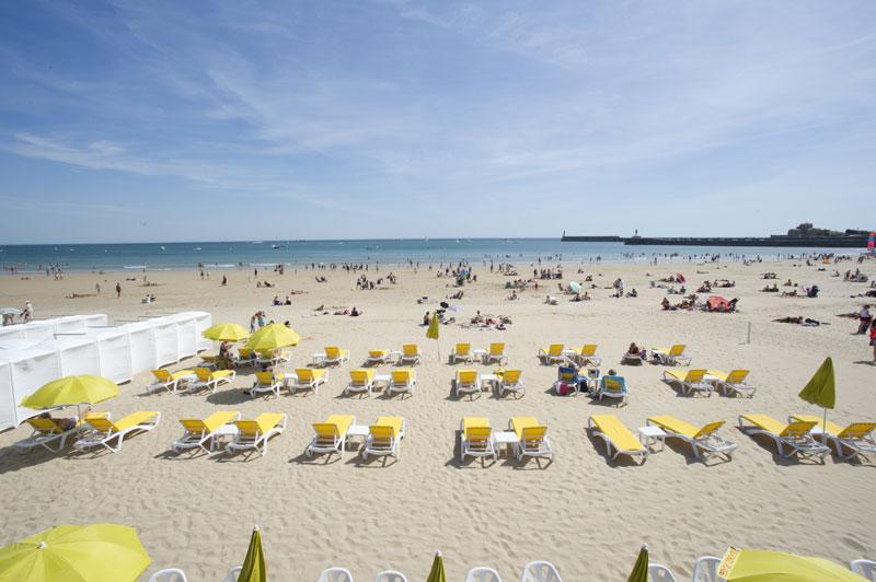 beach les sables d'olonne