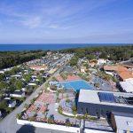 aerial view campsite le-littoral